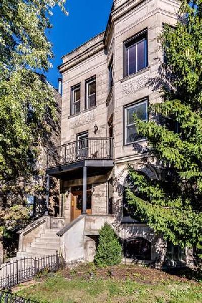 Chicago Condo/Townhouse New: 3825 North Wilton Avenue #3