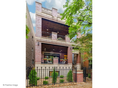 Chicago Condo/Townhouse New: 1870 North Sheffield Avenue #3