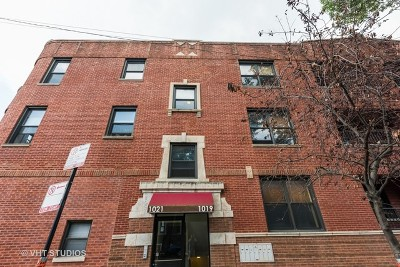 Chicago Condo/Townhouse New: 1021 North Campbell Avenue #1