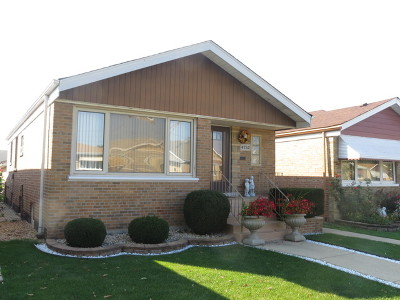 Chicago Single Family Home New: 4752 South Kenneth Avenue