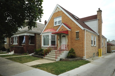 Chicago Single Family Home New: 4342 North Mason Avenue
