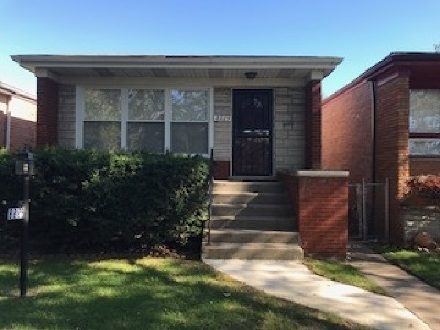 Cook County Single Family Home New: 8229 South Wentworth Avenue