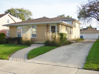 Cook County Single Family Home New: 4533 West 99th Place