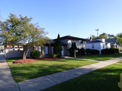 Calumet City Single Family Home New: 849 Greenbay Avenue