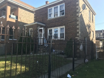 Chicago Single Family Home Re-activated: 2655 West 55th Street