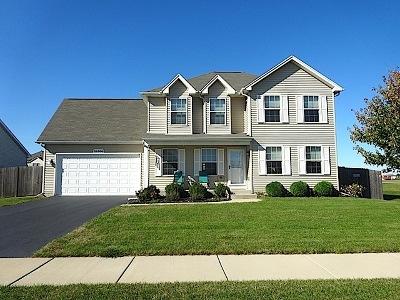 Plainfield Single Family Home New: 16306 Fairfield Drive