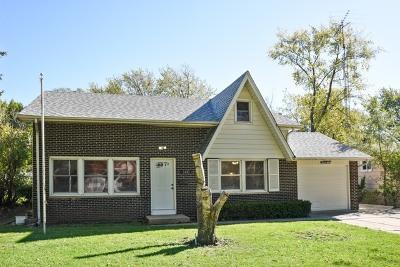 Hanover Park Single Family Home Contingent: 7331 Jonquil Terrace