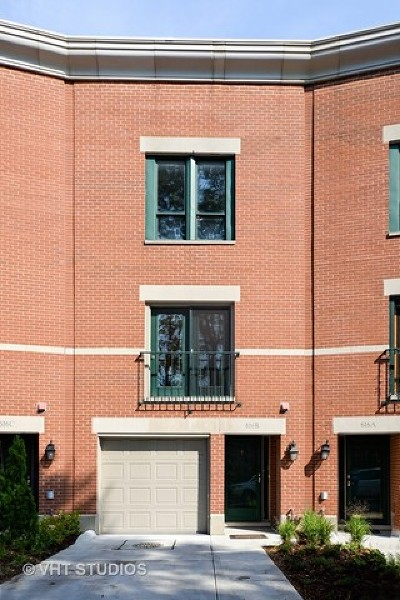 Chicago Condo/Townhouse New: 616 South Laflin Street #B
