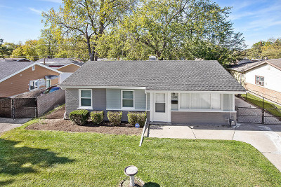 Calumet City Single Family Home New: 1384 Forest Place