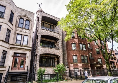Chicago Condo/Townhouse New: 619 West Surf Street #3