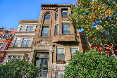 Cook County Condo/Townhouse New: 1702 North Dayton Street #3