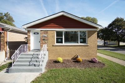 Single Family Home New: 9557 South Forest Avenue