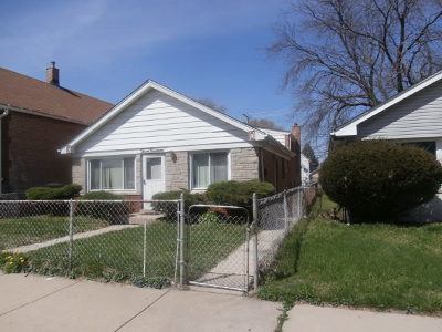 Calumet City Single Family Home New: 314 155th Place