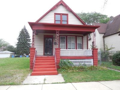 Single Family Home New: 11311 South Eggleston Avenue