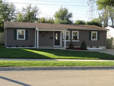 Romeoville Single Family Home For Sale: 436 Montrose Drive