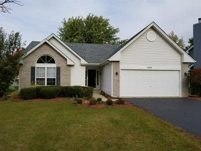 Oswego Single Family Home Contingent: 633 Briarwood Lane