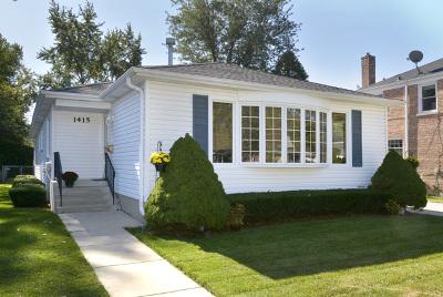 Arlington Heights Single Family Home New: 1415 West Oakton Street