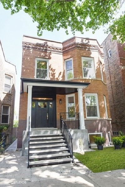Chicago Single Family Home New: 3535 North Bell Avenue