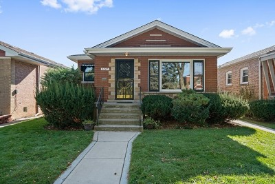 Chicago Single Family Home New: 2727 West 83rd Street
