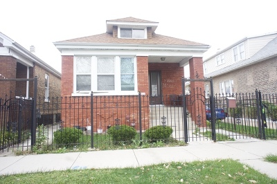 Chicago Single Family Home New: 6516 South Albany Avenue