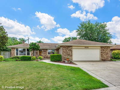 Orland Park Single Family Home Contingent: 8905 Briarwood Lane