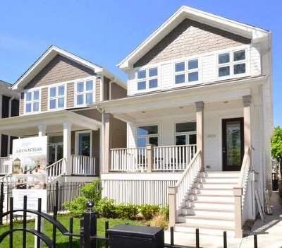 Chicago Single Family Home New: 2424 North Artesian Avenue