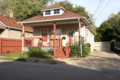 Joliet Single Family Home Price Change: 610 Abe Street
