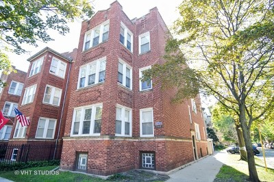 Chicago Multi Family Home New: 2061 West Birchwood Avenue