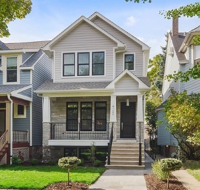 Cook County Single Family Home New: 4122 North Hermitage Avenue
