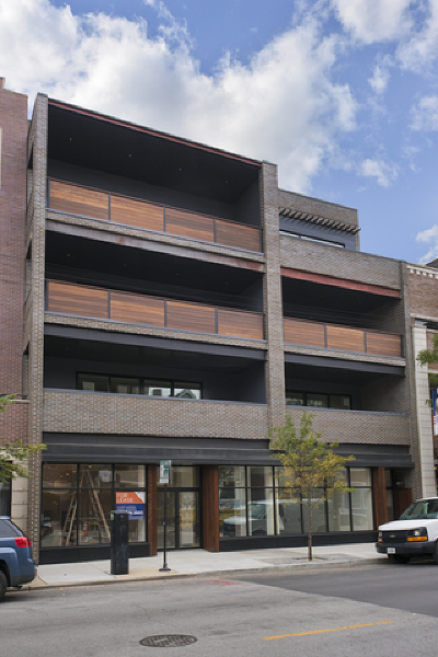 Cook County Condo/Townhouse New: 1342 West Belmont Avenue #2E