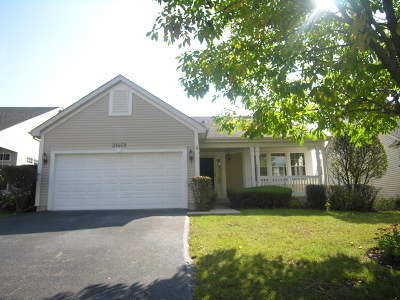 Plainfield Single Family Home New: 21459 West Basswood Lane