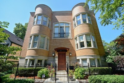 Cook County Single Family Home New: 2620 North Seminary Avenue