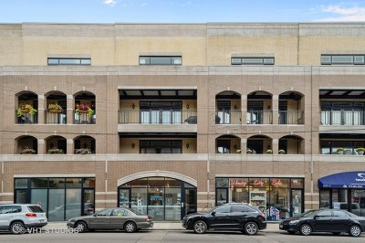 Cook County Condo/Townhouse New: 1423 West Belmont Avenue #3