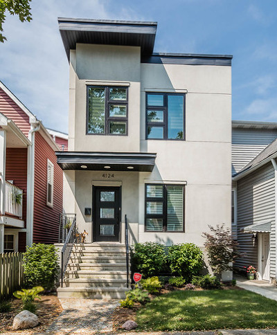 Chicago Single Family Home For Sale: 4124 North St. Louis Avenue