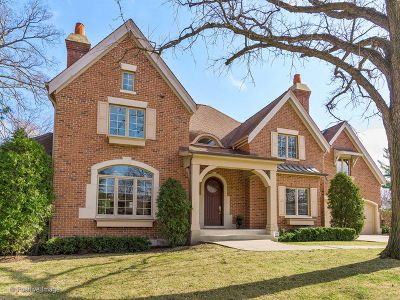 Western Springs Single Family Home For Sale: 3967 Garden Avenue