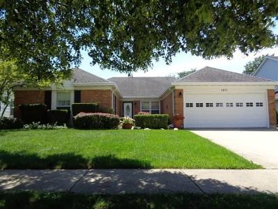 Hoffman Estates Single Family Home Price Change: 1271 Darlington Court