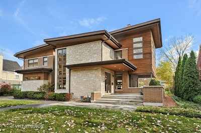 River Forest Single Family Home For Sale: 1521 Forest Avenue