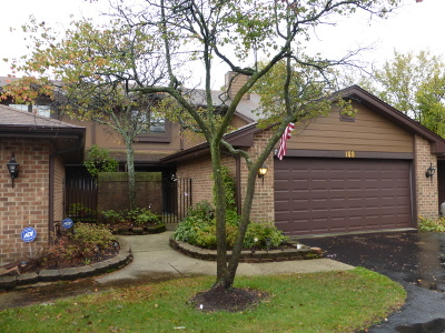 Westmont Condo/Townhouse Contingent: 169 Indian Boundary Drive