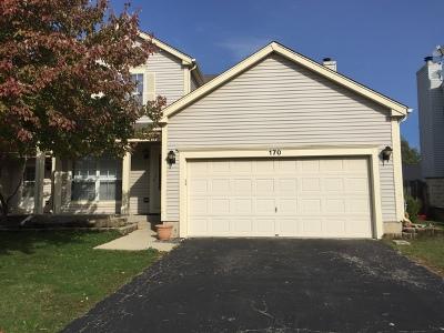 Carol Stream Condo/Townhouse For Sale: 170 Horizon Circle