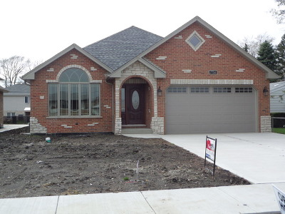 Palos Hills Single Family Home For Sale: 10521 South 81 St Court