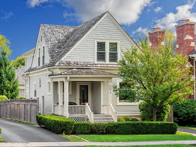 Hinsdale Single Family Home For Sale: 615 South Washington Street