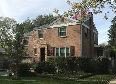 Glen Ellyn Single Family Home Price Change: 372 Lorraine Street