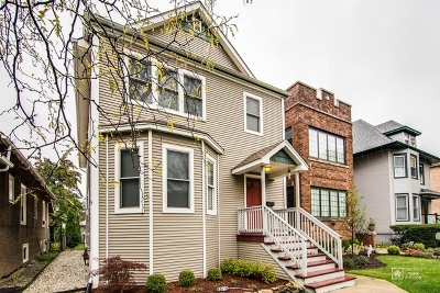 Chicago Single Family Home For Sale: 3810 North Kenneth Avenue
