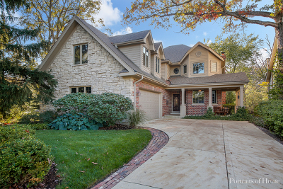 Downers Grove Single Family Home For Sale: 4732 Wallbank Avenue