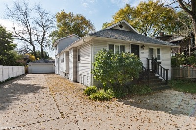 Highland Park Single Family Home Re-Activated: 1004 Park Avenue West