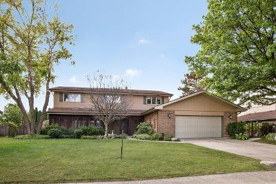 Homer Glen Single Family Home For Sale: 13117 West Pin Oak Drive