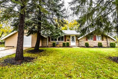Schaumburg Single Family Home For Sale: 1922 Whittier Lane