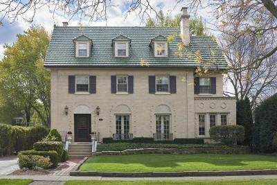 Wilmette Single Family Home For Sale: 701 Sheridan Road