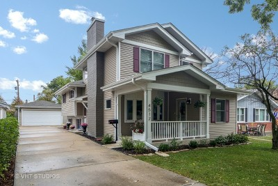 Downers Grove Single Family Home Contingent: 4512 Pershing Avenue