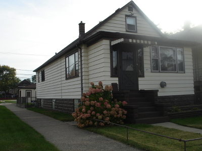Cook County Single Family Home Contingent: 301 153rd Place
